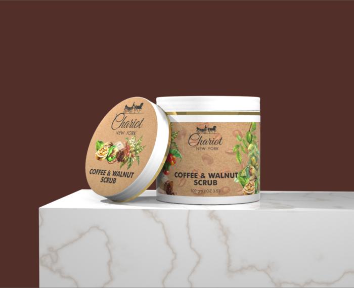 Chariot New York Coffee and Walnut Scrub